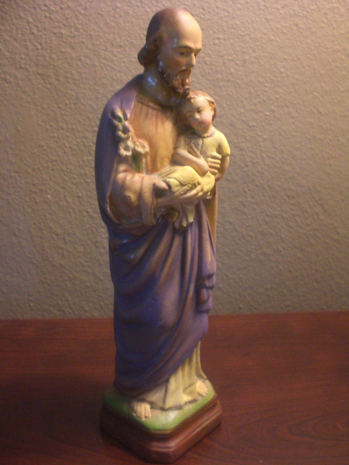 Vintage St Joseph Statue From St Joseph School In New